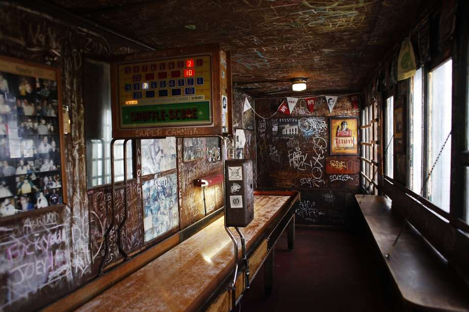 Interior of the Kingfish in Temescal. Est. 1922, moved to make room for a condo development in 2015.